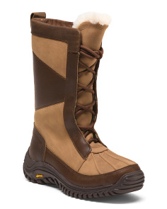 Mixon Waterproof Leather Snow Boots