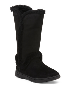 Katia Waterproof Suede Winter Boots