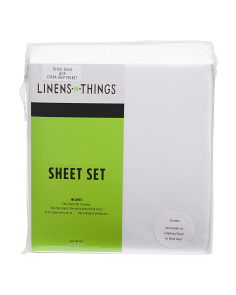 Soft Microfiber Sheet Set