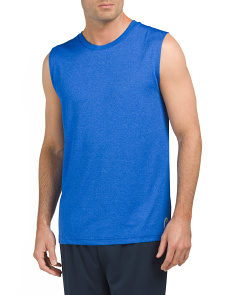 Heathered Sleeveless Tee