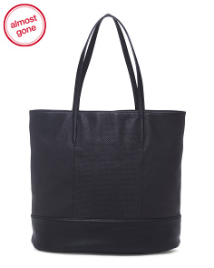 Leather Katherine Tote