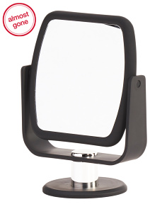 Two-sided Vanity Mirror