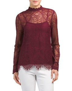 Swing Street Victorian Lace Top