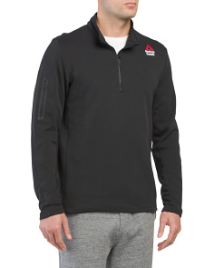 Crossfit Quarter Zip Fleece Top