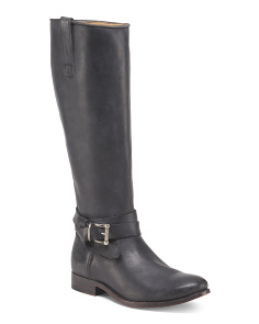 Melissa Leather Riding Boots