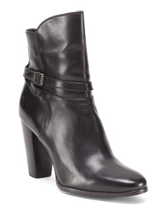 Laurie Leather Booties