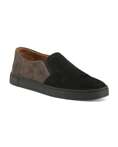 Slip On Suede Sneakers