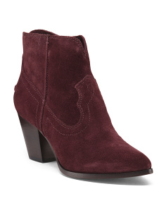 Renee Suede Booties