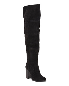Claude Suede Over The Knee Boots