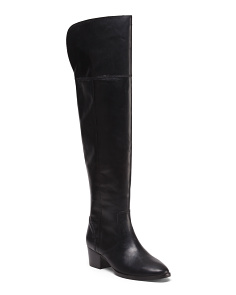 Clara Over The Knee Leather Boots