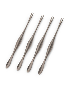 Stainless Steel 4pk Seafood Forks