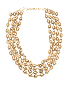 14k Gold Plated Alma Choker Necklace