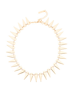 14k Gold Plated Kate Collar Cubic Zirconia Necklace