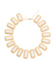 14k Gold Plated Nadia Collar Necklace