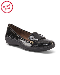 Step In Loafers With Buckle Keeper