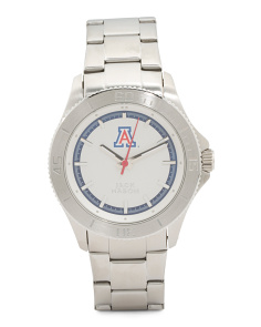 Men's Arizona Wildcats Bracelet Watch