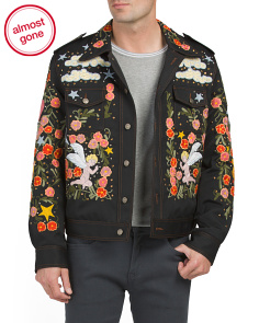 Made In Italy Embroidered & Embellished Jacket