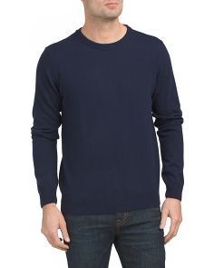 Made In Italy Crew Neck Cashmere Sweater