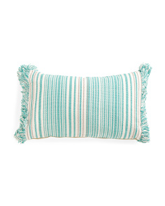 Made In India 14x24 Stripe Pillow