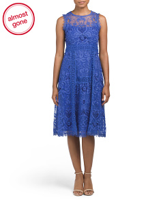 Made In USA Lovely Lace Dress