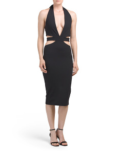 Made In USA Eden Cut Out Dress