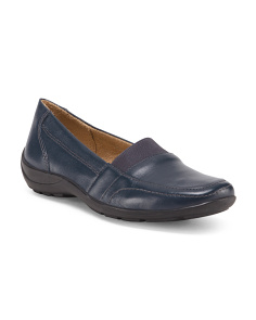 Fritz Leather Step In Loafers