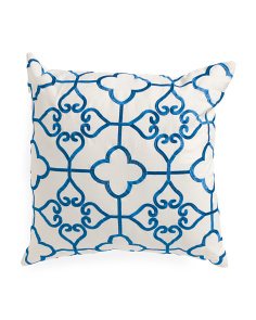 20x20 Indoor Outdoor Medallion Pillow