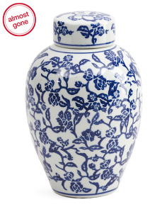 Chinoiserie Jar