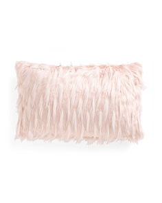 14x24 Faux Fur Pillow