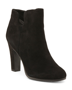 High Heel Modena Calf Leather Booties