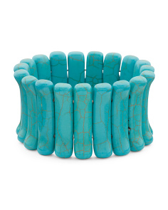 Turquoise Tribal Stretch Bracelet