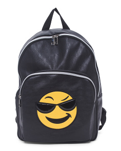 Sunglasses Emoji Backpack