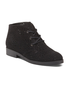 Perforated Chukka Boots