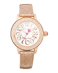 Woman's Sparkle Strap Watch