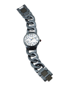 Women's Sparkle Numbers Link Bracelet Watch