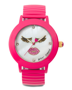 Women's Wink Dial Expansion Strap Watch