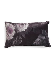 14x24 Floral Photo Boudoir Pillow
