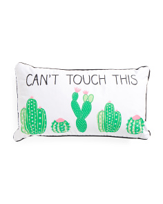 14x24 Can't Touch This Pillow
