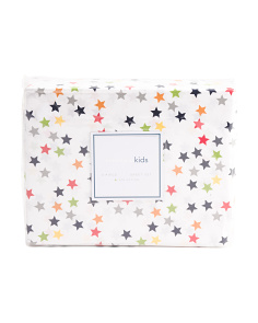 Kids Scattered Star Sheet Set