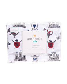 Kids Knight Sheet Set