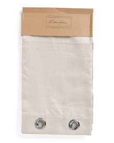 54x96 Set Of 2 Faux Linen Curtains
