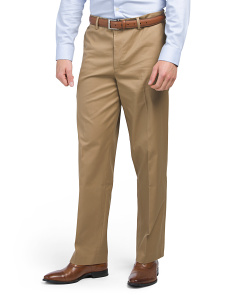 Iron Free Classic Fit Stretch Pants