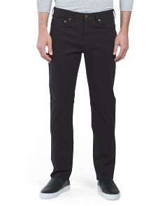 Slim Fit 5 Pocket Twill Pants