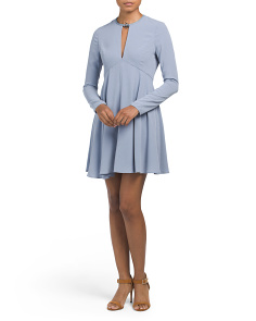 Long Sleeve Turn Lock Dress