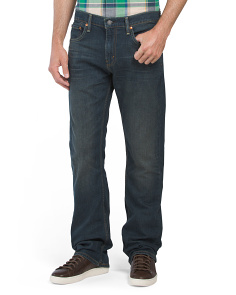 527 Slim Bootcut Covered Up Jeans