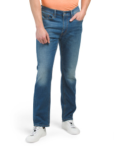 Athletic Straight Stretch Fit Jeans