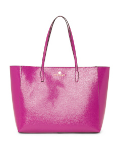 Lou Leather Tote