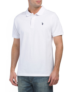 Solid Pique Classic Polo