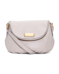 New Q Natasha Leather Crossbody