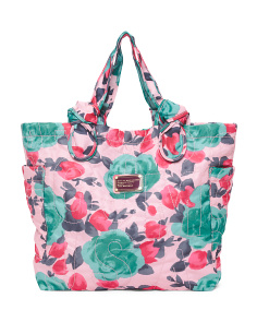 Jerrie Rose Medium Nylon Tote
